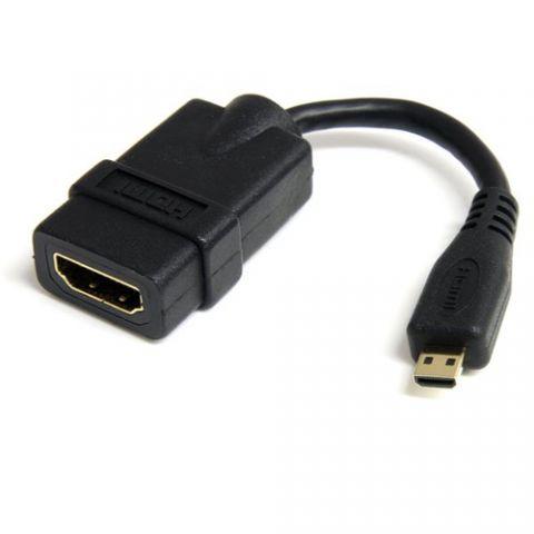 Accesorio StarTech.com Cable Adaptador de 12cm HDMI de alta velocidad a Micro HDMI - H a M
