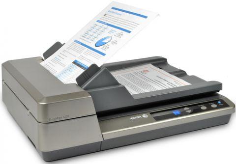 Escaner Xerox 3220 Escáner de base plana y ADF 600 x 600 DPI Gris