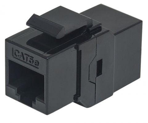 Accesorio Intellinet 504775 conector RJ-45 Negro