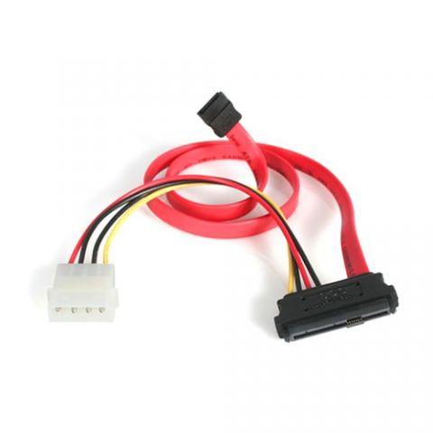 Adaptadores para Disco Duro StarTech.com Adaptador Cable Divisor SAS 29 Pines a Molex Macho LP4 y SATA - SFF-8482