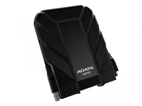 Disco duro externo ADATA 1TB DashDrive Durable HD710 disco duro externo 1000 GB Negro