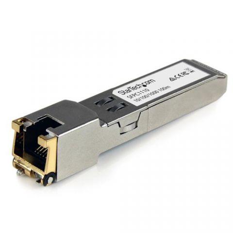 Transceptor StarTech.com Módulo SFP Compatible con Cisco SFP-GE-T - Transceptor de Cobre RJ45 1000BASE-T - SFPC1110