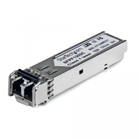 Transceptor StarTech.com Módulo SFP Compatible con Cisco GLC-FE-100FX - Transceptor de Fibra Óptica 100BASE-FX - SFPF1302C