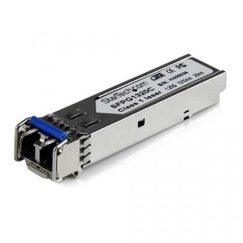 Transceptor StarTech.com Módulo Transceptor de Fibra Monomodo SFP Gigabit DDM LC Compatible Cisco Mini GBIC - Transceiver - 20km