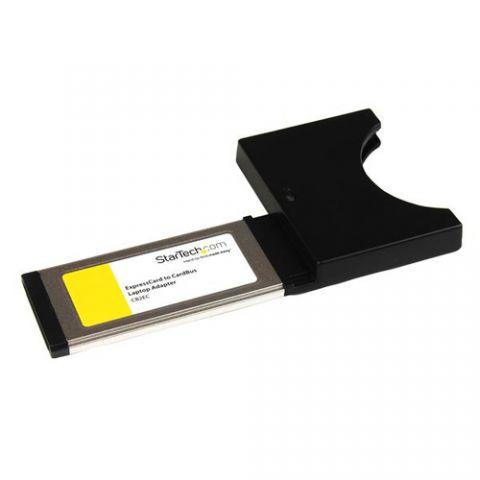 StarTech.com Tarjeta Adaptador Convertidor ExpressCard /34 34mm a PC Card PCMCIA Cardbus