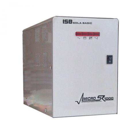 No Break y UPS Industrias Sola Basic Micro SR 1000 VA 4 salidas AC
