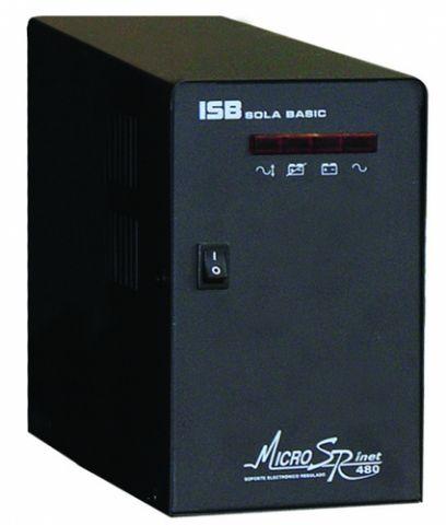 No Break y UPS Industrias Sola Basic Micro SR inet 480 VA 4 salidas AC