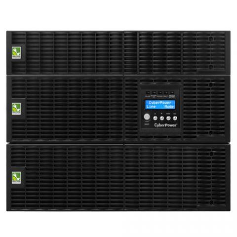 No Break y UPS CyberPower OL6000RT3UTF sistema de alimentación ininterrumpida (UPS) Doble conversión (en línea) 6000 VA 5400 W 15 salidas AC