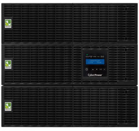 No Break y UPS CyberPower OL10000RT3UTF sistema de alimentación ininterrumpida (UPS) Doble conversión (en línea) 10000 VA 9000 W 19 salidas AC