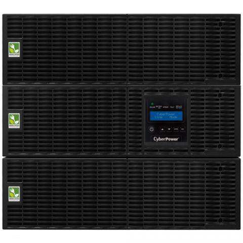 No Break y UPS CyberPower OL8000RT3UTF sistema de alimentación ininterrumpida (UPS) 8000 VA 7200 W 19 salidas AC