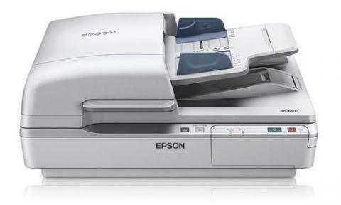 Escaner Epson WorkForce DS-6500 Escáner de base plana y ADF 1200 x 1200 DPI A4 Blanco