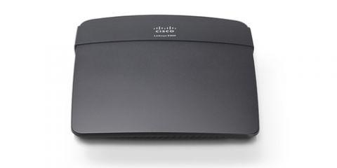 Router Linksys E900 router inalámbrico Ethernet rápido Negro