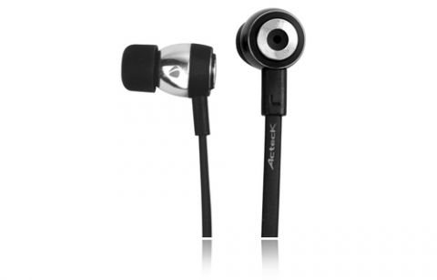 Accesorios para Electronica Acteck AE-260 Auriculares Intra auditivo Conector de 3.5 mm Negro