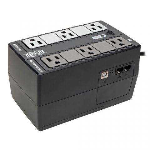 No Break y UPS Tripp Lite INTERNET350U UPS No Break Standby Internet Office de 350VA 210W - 6 Tomacorrientes NEMA 5-15R, 120V, 50 Hz /60 Hz, USB, Clavija 5-15P, Instalación en Pared o Escritorio