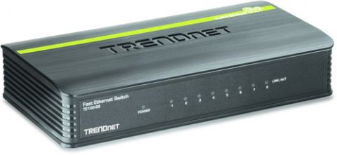 Switches Trendnet 8-Port 10/100Mbps Switch No administrado