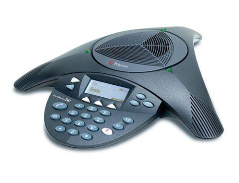 POLY 2200-16155-001 altavoz Teléfono Negro