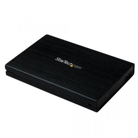 Gabinete para disco duro StarTech.com Gabinete Carcasa de Aluminio USB 3.0 de Disco Duro HDD SATA III 6Gbps de 2.5 Pulgadas Externo con UASP