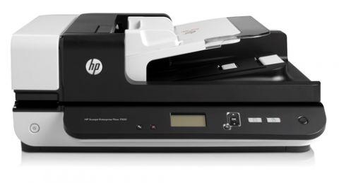 Escaner HP Scanjet 7500 Escáner de base plana y ADF 600 x 600 DPI A4 Negro, Blanco