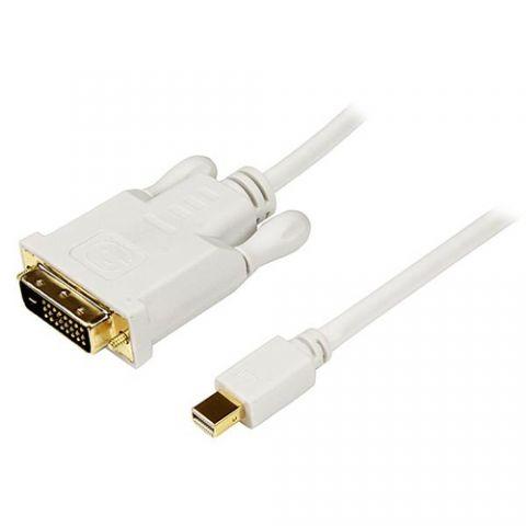 Accesorio StarTech.com Cable de 3m Adaptador de Video Mini DisplayPort a DVI-D - Convertidor Pasivo - 1920x1200 - Blanco