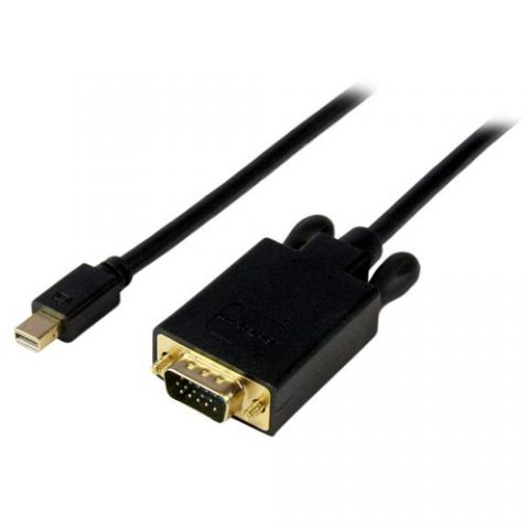 Accesorio StarTech.com Cable de 91cm de Video Adaptador Convertidor Activo Mini DisplayPort a VGA - 1080p - Negro