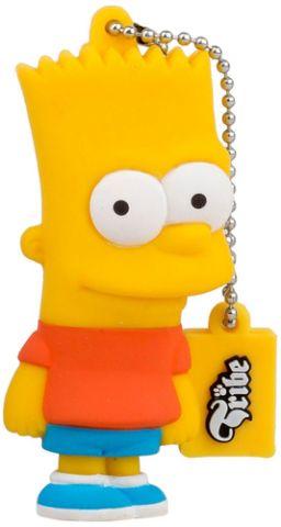Tribe Bart Simpson 8GB USB 2.0 unidad flash USB USB tipo A Multicolor