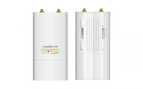 Antena Ubiquiti Networks Rocket M2 150 Mbit/s Blanco Energía sobre Ethernet (PoE)
