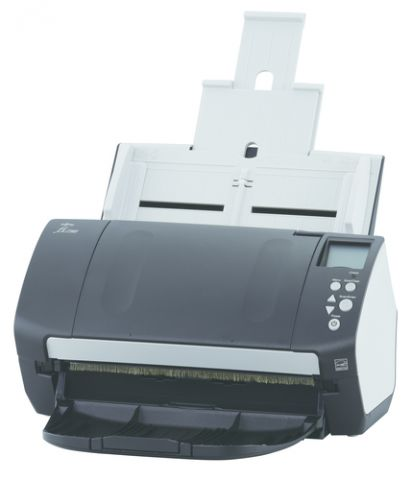 Escaner Fujitsu fi-7160 Escáner con alimentador automático de documentos (ADF) 600 x 600 DPI A4 Negro, Blanco
