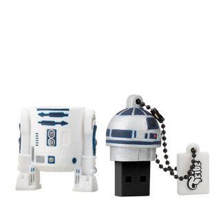 Tribe R2-D2 unidad flash USB 8 GB USB tipo A 2.0 Azul, Blanco