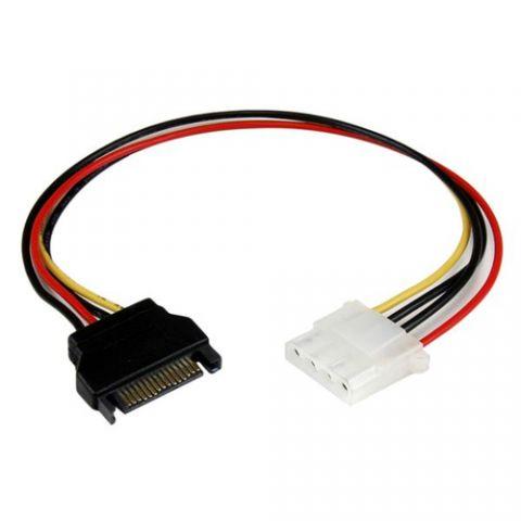 Adaptadores para Disco Duro StarTech.com Cable de 30cm Adaptador de Alimentación SATA a LP4 - Hembra a Macho