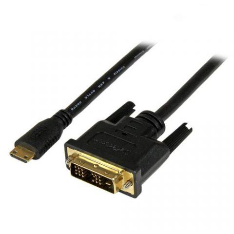 Accesorio StarTech.com Adaptador Cable Convertidor de 1m Mini HDMI a DVI-D para Tablet y Cámara