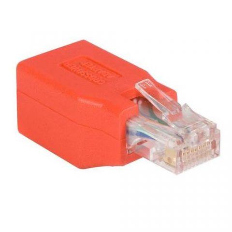Adaptador para red StarTech.com Adaptador de Cable de Red Ethernet Cat6 Directo Recto Straight a Cruzado Crossover UTP Patch RJ45