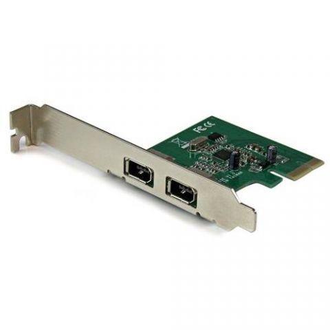Tarjeta firewire StarTech.com Tarjeta PCI Express de 2 Puertos FireWire 1394a - Adaptador PCI-E FW400