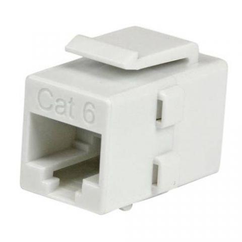 Adaptador para red StarTech.com Acoplador Keystone de Cable de Red Ethernet Cat6 RJ45 - Hembra a Hembra