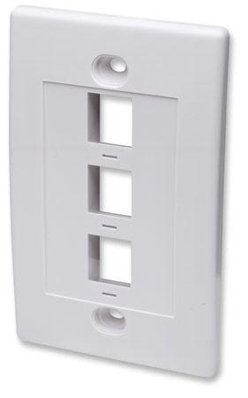 Accesorio Intellinet 163309 placa de pared o cubierta de interruptor Blanco