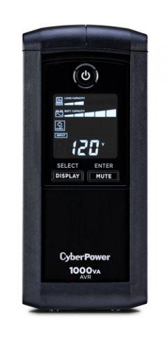 No Break y UPS CyberPower CP1000AVRLCD sistema de alimentación ininterrumpida (UPS) 1000 VA 600 W