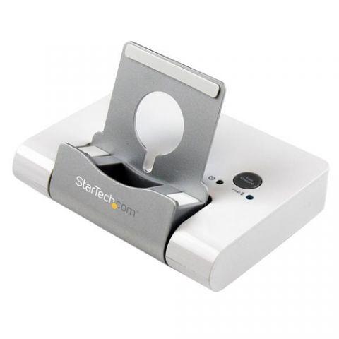 Accesorios para Componente StarTech.com Concentrador USB 3.0 de 3 Puertos - Hub con Puerto de Carga Rápida (2.1A) y Base para Laptops y Tablets con Windows