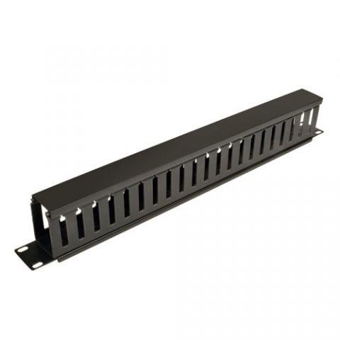 Administrador de Cable TRIPP-LITE - Negro, 1U, 9, 91 cm, 4, 5 cm, 590 g SRCABLEDUCT1U