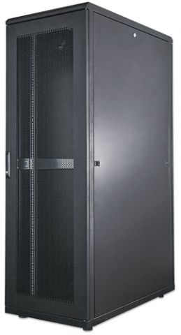 Intellinet 713245 armario rack 26U Rack o bastidor independiente Negro