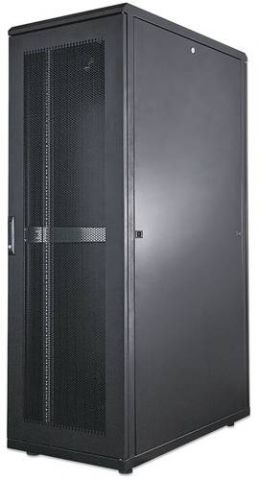 Intellinet 713276 armario rack 42U Rack o bastidor independiente Negro