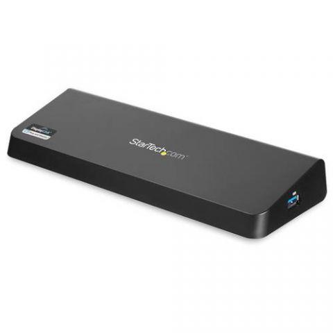 Soportes para PC StarTech.com Docking Station USB 3.0 para Dos Pantallas con HDMI y DisplayPort 4K