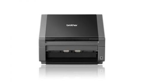 Escaner Brother PDS-5000 escáner Escáner con alimentador automático de documentos (ADF) 600 x 600 DPI A4 Negro, Gris
