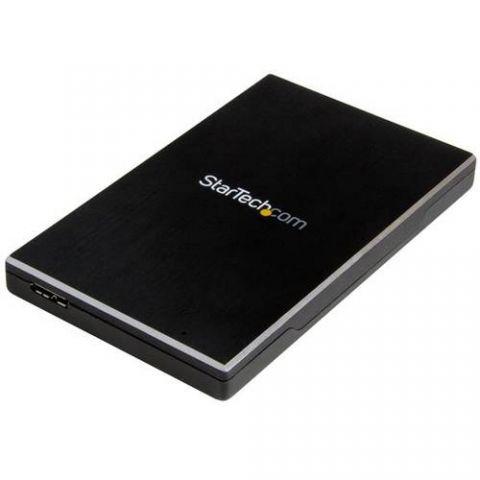 Gabinete para disco duro StarTech.com Gabinete USB 3.1 Gen 2 de 1 bahía de 2.5 pulgadas SATA III