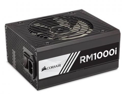Fuente de poder Corsair RM1000i unidad de fuente de alimentación 1000 W 20+4 pin ATX ATX Negro