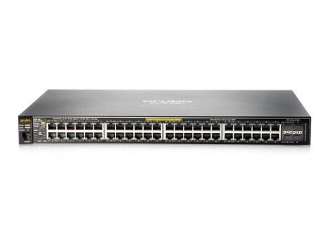 Networking Aruba, a Hewlett Packard Enterprise company Aruba 2530 48 PoE+ Gestionado L2 Fast Ethernet (10/100) Energía sobre Ethernet (PoE) 1U Gris