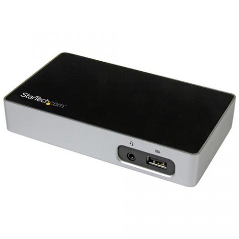 Accesorio StarTech.com Replicador de Puertos DVI a USB 3.0 para Laptops
