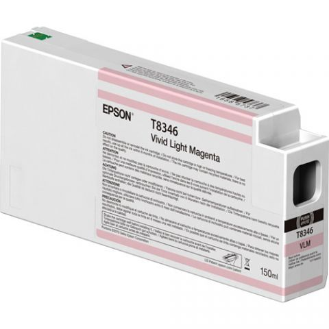 Accesorio Epson T834600 Original Magenta claro vivo
