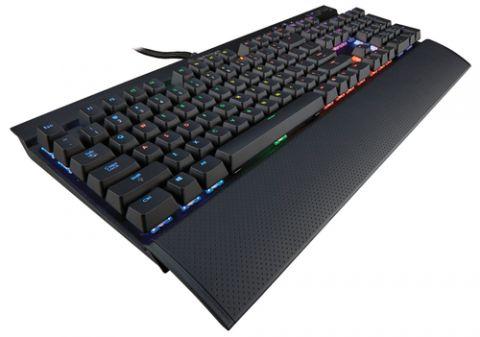 Teclado y raton Corsair K70 RGB teclado USB Inglés Negro