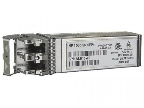 Hewlett Packard Enterprise BladeSystem c-Class 10Gb SFP+ SR Transceiver módulo de red del transceptor Fibra óptica 10000 Mbit/s SFP+ 850 nm