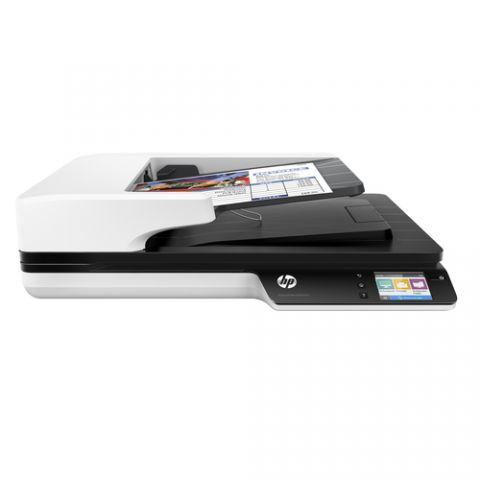 Escaner HP Scanjet Pro 4500 fn1 Escáner de base plana y ADF 1200 x 1200 DPI A4 Gris