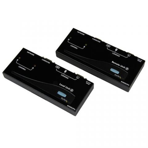 Extensor de señal StarTech.com Extensor de Consola KVM USB por Cable Ethernet Cat5 UTP RJ45 - 150m